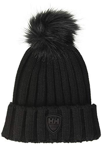 Helly Hansen W Limelight Beanie Gorro de Punto, Negro (Negro 990), One Size (Tamaño del Fabricante:Unica) para Mujer