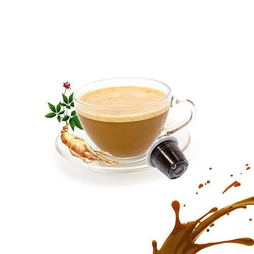 10 Kapseln Nespresso Kaffee Kompatibel Ginseng Kaffee - Kickkick Kaffee