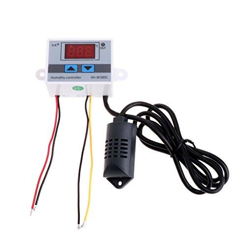 A0127 12V 220V Digitaler Feuchteregler Controller Hygrostat Hygrometer Sensor