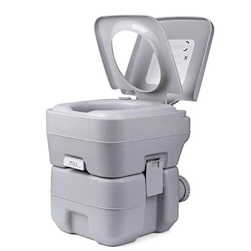 Flexzion Outdoor Portable Toilet