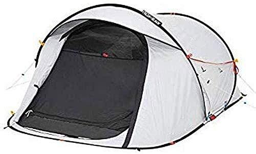 YAYY 2 Personen Waterdicht Pop up Camping Tent 2 Seconden Verse & Zwart Eenvoudige Instelling en Vouwen (Upgrade)