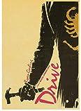 ERWUYI Leinwand Poster Drive Ryan Gosling Filmplakat