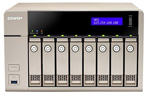 QNAP TVS-863+ Collegamento ethernet LAN Torre Oro NAS