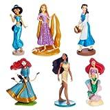 L'ensemble officiel de figurines Disney Princesse comprend Rapunzel, Ariel et Belle,...