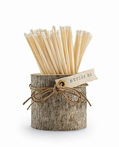 Save %40 Now! Mud Pie Fall Matches in Wood Pot (Bark)