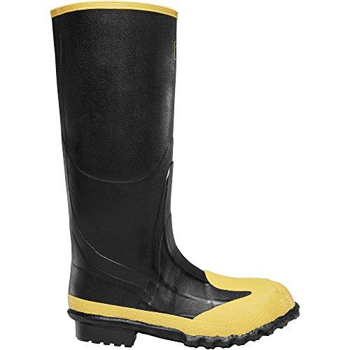 "LaCrosse 16"" Meta Black MET/SM/ST (00228260)   Waterproof   Insulated Modern Comfortable Hunting Combat Boot Best for Mud, Snow (11)"