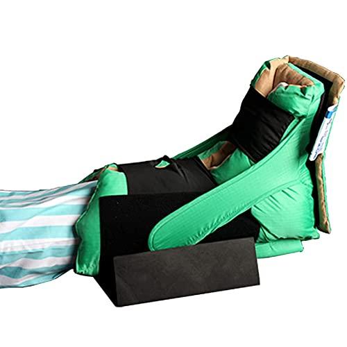 CXQD Soporte de Tobillo Anti decúbito, protección del talón Almohadilla del talón Protector del talón decúbito,Llagas Y Úlceras,1 Par De Protectores De Almohada para Pies Y Tobillos