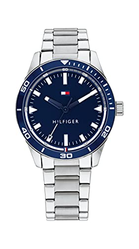 Tommy Hilfiger Analog Blue Dial Men's Watch-TH1791817W