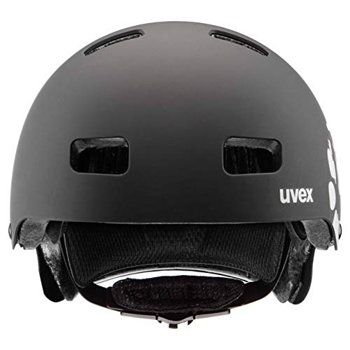 Uvex Unisex Jugend, Kid 3 cc Fahrradhelm, Dirtbike Black Mat 51-55cm - 2
