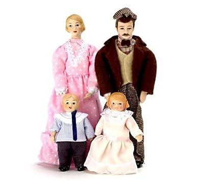 Porcelain Doll Family