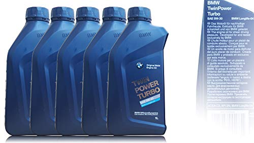 Original BMW Motoröl 5x Öl 5W-30 Twin Power Turbo LongLife-04