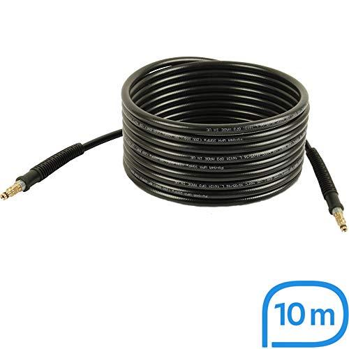 Hochdruckschlauch | 10m, 200bar, 60°C, Quick Connect beidseitig, NW 6x1