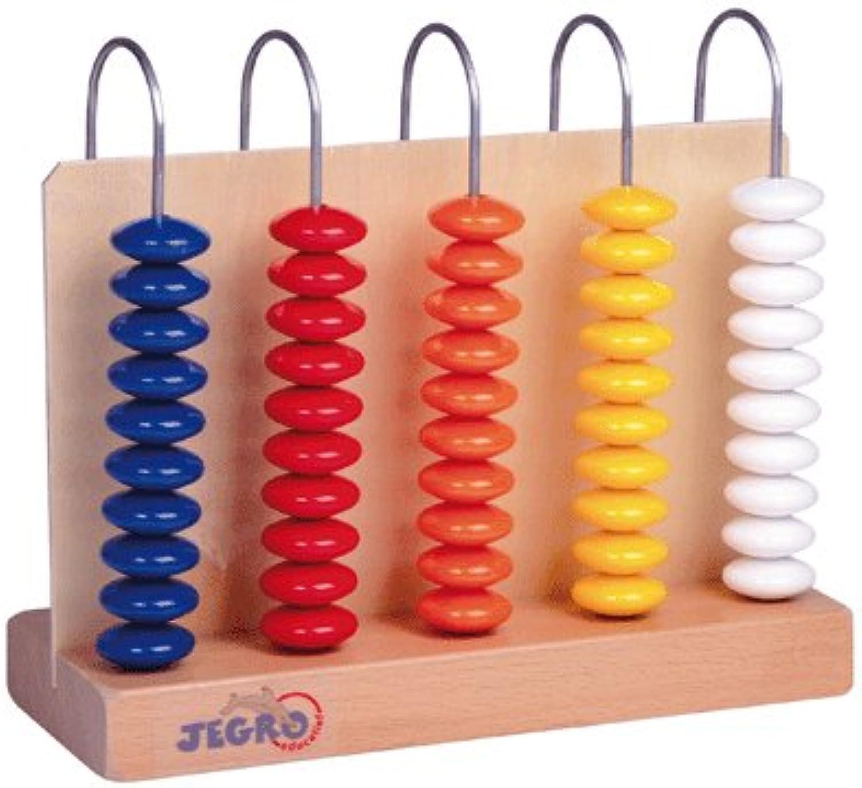 Generic Abachte aus Holz, 5 Säulen mit 10 Teilen [Spielzeug] B0021BYHFK  | New Style