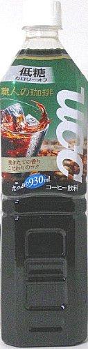 職人の珈琲 低糖 930ml×12本 PET