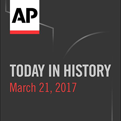 Today in History: March 20, 2017 cover art