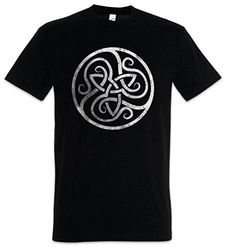 Urban Backwoods Celtic Circle Camiseta De Hombre T-Shirt Negro Talla M