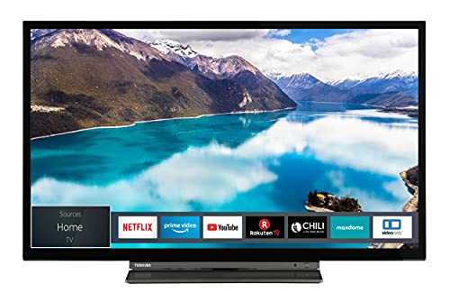 Toshiba 32LL3C63DAX 32 Zoll Fernseher (Full HD, Smart TV inkl. Prime Video / Netflix, Bluetooth, WLAN, Triple Tuner, Works with Alexa)