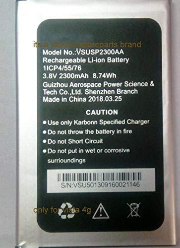 jacksunspareparts Full Cell Compatible 2300 mAh Battery for Karbonn Titanium Vista 4 G