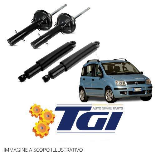 TGI - 4 Ammortizzatori Ant.e Post. Fiat Panda 169 4x4 1.2 1.3 1.4 dal 2003 al 2013