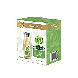 Somersby Festive Apple Cider Bottle, 330 ml (Pack of 8)