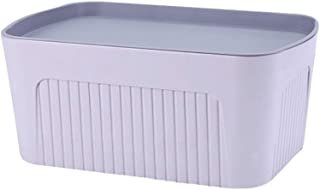 LCSHAN Panier de Rangement en Plastique Boîte de Rangement Fille Coeur Boîte de Rangement Boîte de Rangement Boîte Livre B...