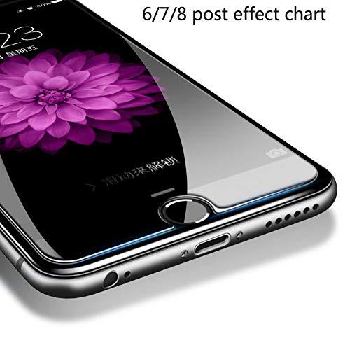 JVSJ 2PCS Für iPhone X Glas 0,26 Mm Für iPhone 6 7 8 Plus Displayschutzfolie Für iPhone 5...