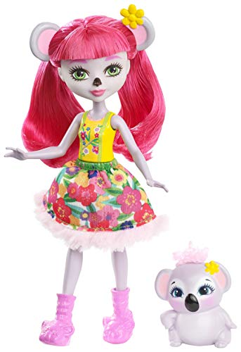 Enchantimals Muñeca Karina Koala (Mattel FNH24)