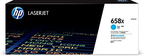 HP 658X | W2001X | Toner Cartridge | Cyan | High Yield