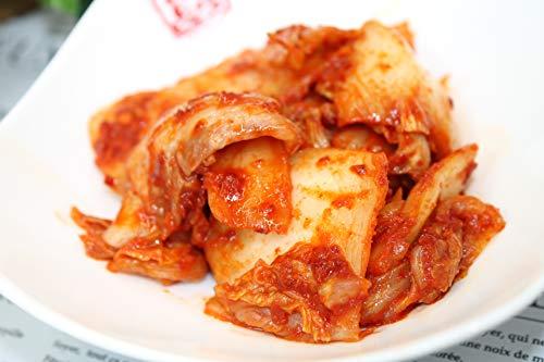 本場・自家製白菜キムチ【500g】・定番の一番人気!カットしております。手軽に食べれます。