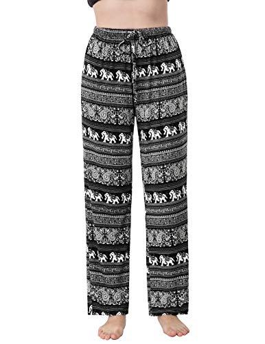 Zexxxy dames licht zacht katoen pyjama Bottoms met zakken pyjamabroek slaapbroek