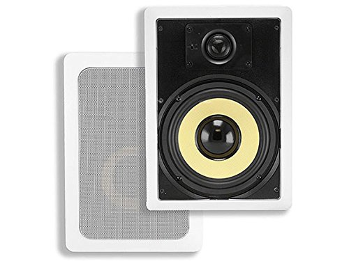 Monoprice 2-Way Aramid Fiber in-Wall Speakers