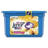 Lenor All-in-1 PODS Colorwaschmittel, Goldene Orchidee– 13Waschladungen