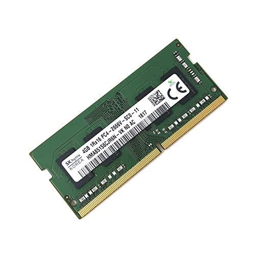 SK HYNIX hma851s6cjr6N–VK Non ECC PC4–2666V 4GB DDR42666MHz 260pin SDRAM SODIMM Single Kit Arbeitsspeicher Laptop–OEM