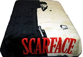 Shopping Done Easy Licensed Queen Size Mink Blanket- Scarface