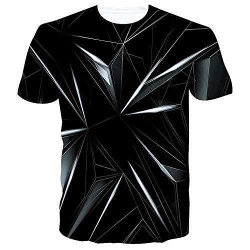 RAISEVERN Herren Vampire Summer T-Shirt Kurzarm Casual Print Graphic Tee Teenager T-Shirts Tops