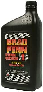 Brad Penn Oil 009-7120S SAE 30W Engine Break-In Oil - 1 Quart Bottle