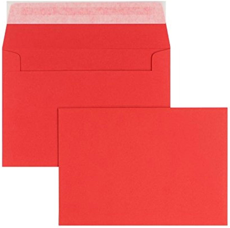Blanke Briefhüllen - 100 Briefhüllen im Format 125 x 180 180 180 mm in Rubin B00FWJZ1C6 | Am wirtschaftlichsten  3cf62e