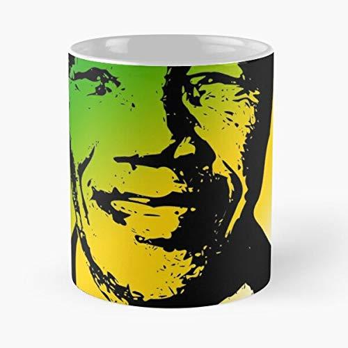 Africa Nelson Poverty South Freedom Mandela Cote ANC Eat Food Bite John Best Taza de café de cerámica de 325 ml