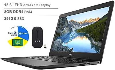 "Dell Inspiron 15 3585 Series 15.6"" FHD Anti-Glare LED-Backlit Laptop, AMD Ryzen 3 HDMI, Online Class Ready"