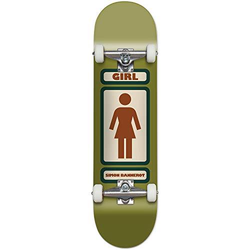Girl Skateboards Simon Bannerot 93 Til WR39 Complete Skateboard - 7.75' x 31.125'