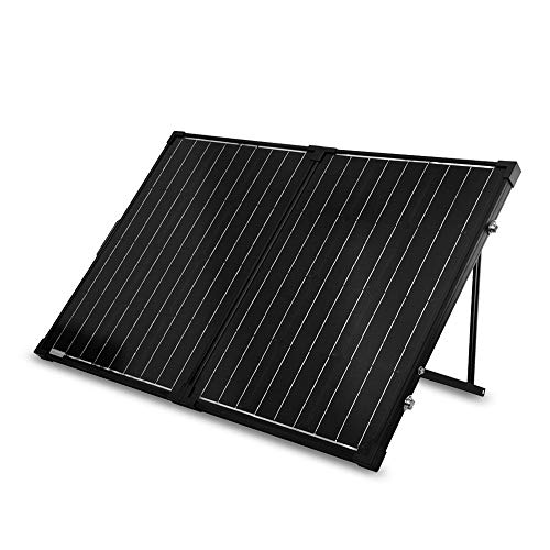 Renogy 100W 12V Mono Solarkoffer Wasserdicht 20A Solarregler LCD für Wohnmobil Camper Boot