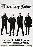 Three Days Grace - Human 2015 - Poster, Concertposter, Concert