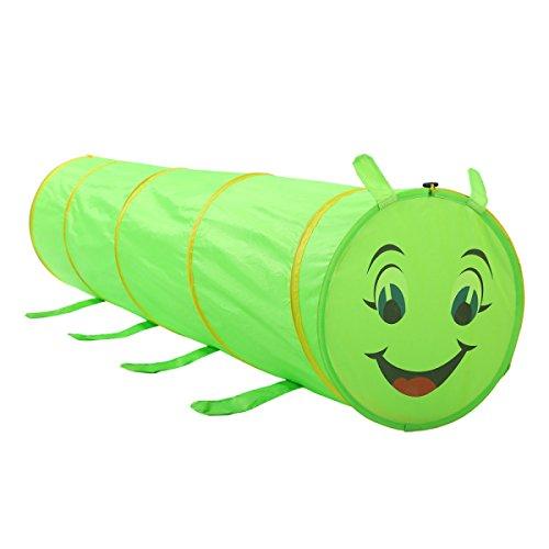 XinQing-Tienda Tienda de Juegos para niños Caterpillar Tunnel Baby Cartoon Juego de rastreo Casa Ocean Wave Pool Ball Pool
