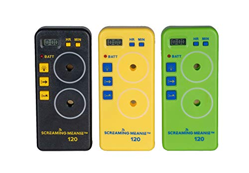 Screaming Meanie TZ-120 Alarm Timer - Extremely Loud - Travel Friendly - Multi-Purpose - 2 Sound Levels - Battery Not Included - Assorted Colors