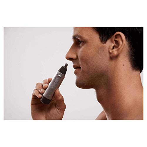 Braun EN10 Ear and Nose Battery Operated Trimmer (Silver)