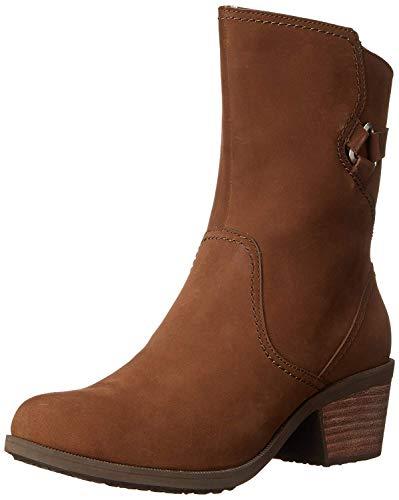 Teva Damen Foxy Mid W's Kurzschaft Stiefel, Braun (561 Bison), 38.5 EU