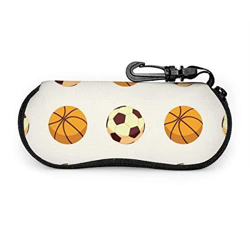 Arvolas Anime jugar deportes baloncesto fútbol funda de anteojos portátil resistente a la abrasión funda protectora para gafas