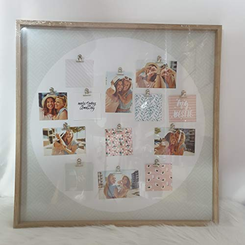 Anchor International B.V. Bilderrahmen Fotorahmen Multirahmen für 13 Bilder Collage Holz Bildergalerie