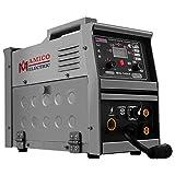 Amico MIG-140GS, Multi-function 140-Amp MIG/MAG/Flux-cored/Lift-TIG/Stick Arc DC Inverter Welder, Can weld all metals, Spool gun weld aluminum.