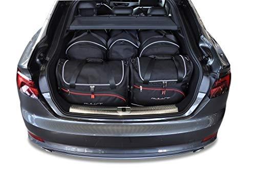 KJUST Dedizierte Reisetaschen 5 STK kompatibel mit Audi A5 SPORTBACK B9 2017 -